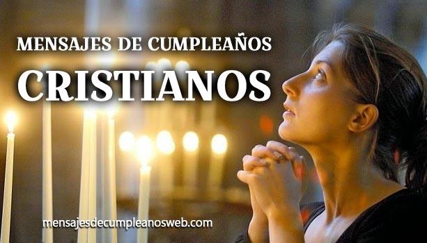 Mensajes de cumpleaños cristianos